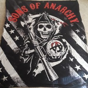Son of anarchy blanket